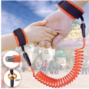 2M ANTILOST STRAP WRIST LEASH SAFT WALKING BELT
