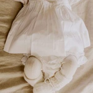 2PCS BabyToddler Christening Gowns and Baptism Outfits