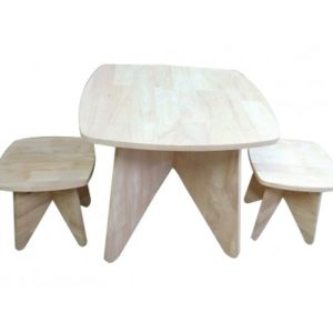Retro Kid table and stool set