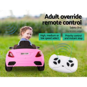 Rigo Maserati Kids Ride On Car –  Pink